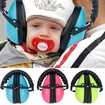 Kids Child Baby Noise Canceling Sound Insulation Defender Protective Ear Muff
