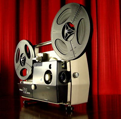 TITAN SUPER & STANDARD 8mm Movie Film Projector ZOOM Lens WorksWell  super8 MELB