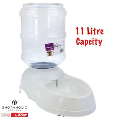11 L Automatic Pet Dog Cat Water Feeder Bowl Dispenser