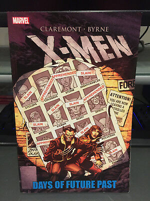 Marvel Comics X-Men Days of Future Past Trade Paperback, Used, Like New