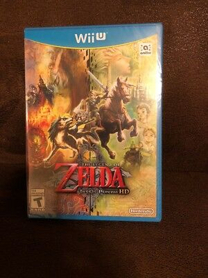 NEW - Sealed  Legend of Zelda: Twilight Princess HD (Nintendo Wii U, 2016)