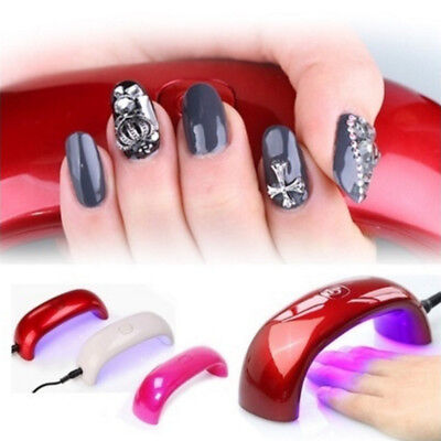 Mini Portable LED Nail Gel Polish USB Lamp For Nail Dryer Machine Nail Art Tools