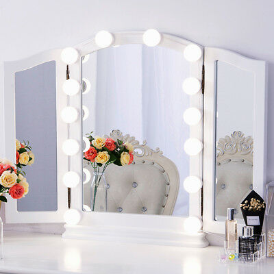 Chende 14 Dimmable Bulbs Vanity Mirror Light kit for Hollywood Makeup Mirror