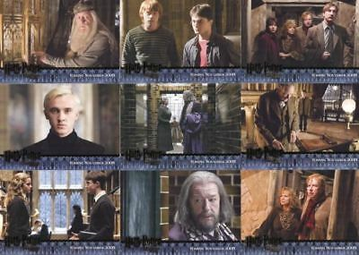 Harry Potter and the Half Blood Prince Comic Con Preview Card Set