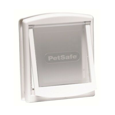 Petsafe Staywell Original 2 Way Pet Door Dog Cat Kitten Puppy White Small Flap