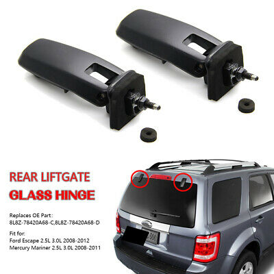 For 08-12 Ford Escape Mariner Rear Window Lift Gate Glass Hinge Kit 8L8Z78420A68