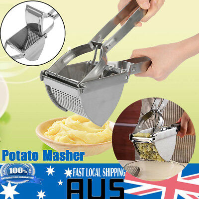Home Stainless Potato Ricer Masher Fruit Vegetable Press Maker Juicer Kitchen