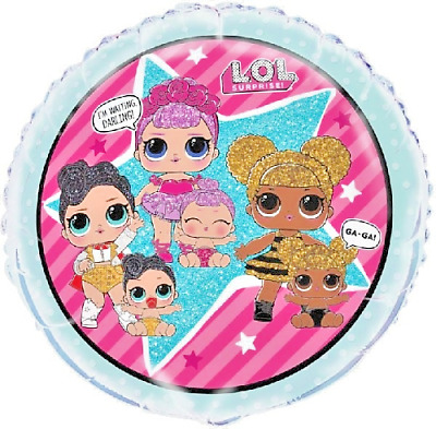 """Birthday Party Official Lol Surprise Doll 18"""" Foil Balloon - Not Chinese Fake"""