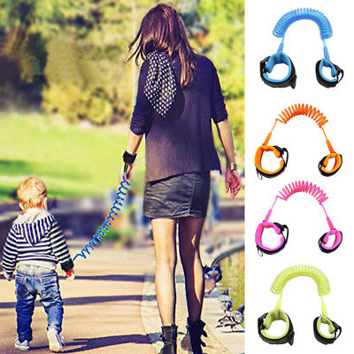 UK Safety Harness Leash Anti Lost Baby Toddler Kids Wrist Link Wristband Ropes