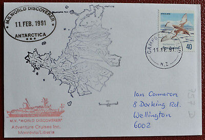 New Zealand Ross Antarctic Antarktis Antarctica Polar Antartica Polarpost NZ