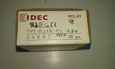 10PC NEW IDEC Relay RJ1S-CL-A24 24VAC