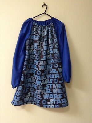 Kids Star Wars  COTTON  Art Smock Boys 12-14 In Triple Weave