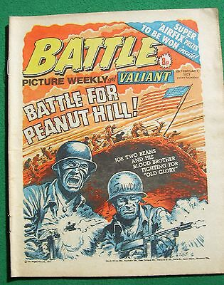 'Battle Picture Weekly and Valiant', 26 February, 1977 (vg/fine)