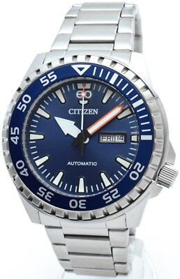 CITIZEN Automatic DayDate Herrenuhr 46 mm WR 10 ATM NH8389-88L