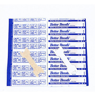 Right Way To Stop Snoring Breathe Right Better Easy- UK Seller - Nasal Strips
