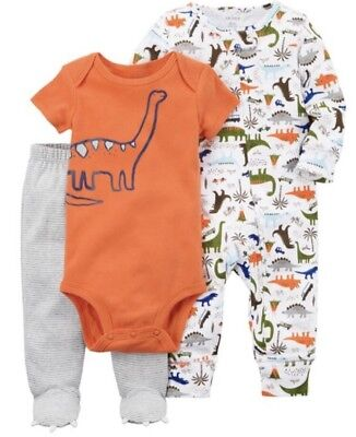 NEW//NWT Carters Baby Boys USA Shirt and Short Outfit Set