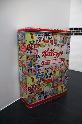 Vintage/Retro Kelloggs tin... add one more tin to complete your collection....