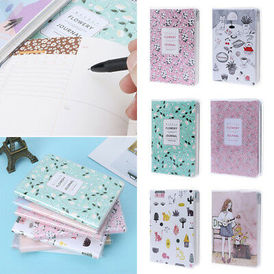 2019 Lovely Agenda Monthly Weekly Planner Calendar Notebook Portable New