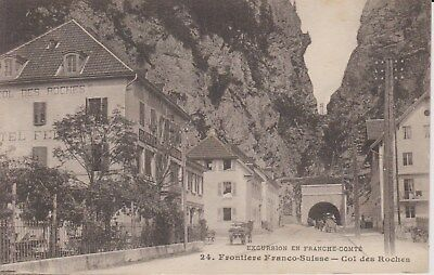 Frontiere Franco Suisse  col des Roches