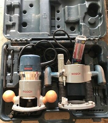 Bosch 1617evspk 225 hp 12 amp 25000 rpm variable speed fixed base bosch 1617evspk 12 amp 225 hp combo plunge fixed base router with extras greentooth Choice Image