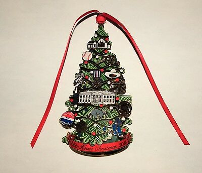 2015 White House Historical Assoc Christmas Ornament~ Light Up Christmas Tree