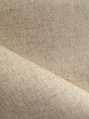 Natural Oatmeal 32 count Zweigart Floba Linen mix evenweave fabric 50 x 70 cm