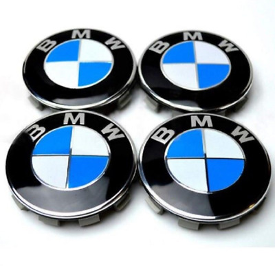Wheel Center Caps BMW Emblem Logo Badge Cover Car Hub Cap 68mm 4pcs e60 e38 F10