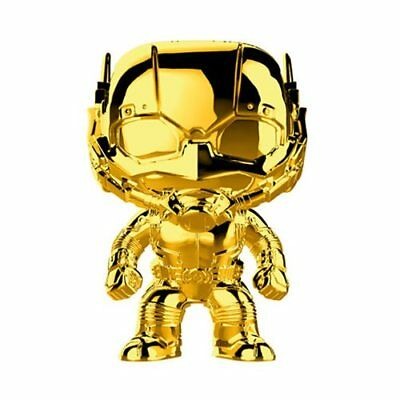 Preorder - FUNKO POP! Marvel Studios The First Ten Years Gold Chrome ANT-MAN