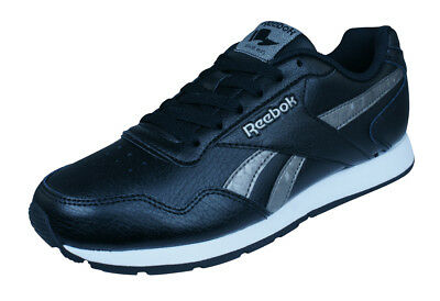 26d986414c55 Reebok Classic Royal Glide Womens Leather Retro Trainers Shoes Black RRP  £64.95