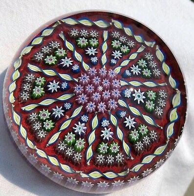 """2 7/8"""" Perthshire Art Glass Paperweight"""