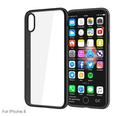 Ultra Thin Clear Case Cover Anti-scratch Phone Protective Shell for iPhone X Xs