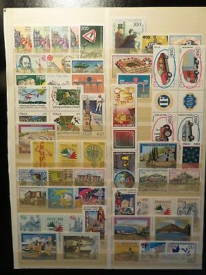 Italien 2: Lot postfrischer Briefmarken (mint stamps)