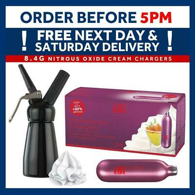 iSi Professional Range Cream Chargers 8.4g N20 Whipping Cream Add Dispenser Mosa
