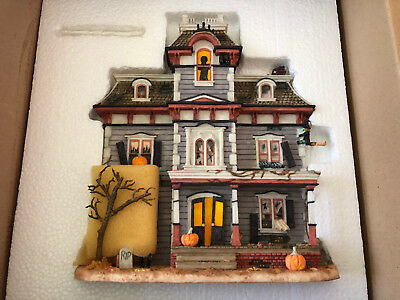"""The Brian Baker Collection Numbered Haunted """"HALLOWEEN HOUSE"""" - Model 011107"""