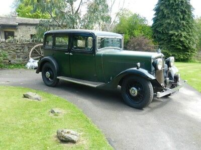 1933 MORRIS OXFORD 16/6  2062cc