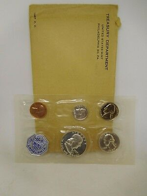 1957 US Silver Proof Set