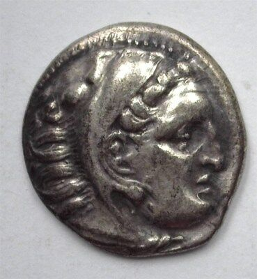 Alexander Iii The Great 336-323 Bc. Ar Drachm -Herakles/zeus- Choice About Unc