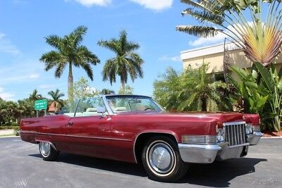 Cadillac DeVille  1970 CADILLAC DEVILLE CONVERTIBLE FLORIDA CAR AC RUNS AND DRIVES GREAT