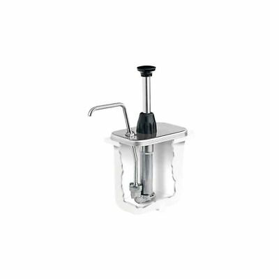 Server Products 87610 S/S 2 Oz. Thick Sauce Pump For 2 Qt Fountain Jar