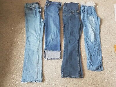 Maternity Jeans Bundle Size 12 Womens Clothes Next and Red Herring