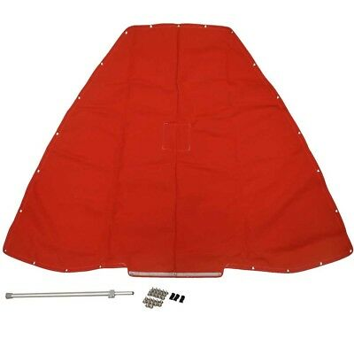 Crownline Boat Bow Cover 82689 | 180 BR SS Red 106773066