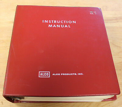 ALCO electrical maintenance manual for WABASH Century C424's TPI-57 Vol 2 1964