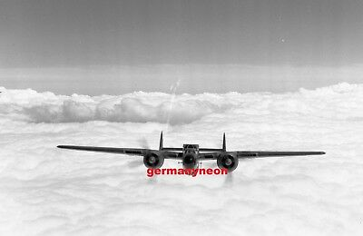 US AIR FORCE,  NORTHROP P-61,  head on,  LARGE ORIGINAL NEGATIVE & PHOTO   (497)