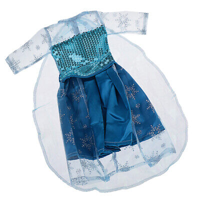Pretty Blue Dress Outfit Clothes For 18 Inch American Girl My Life Doll #2