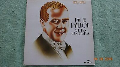 "Jack Hylton & His Orch.    "" Jacks Back ""   1  LP   Jazz       RAR"