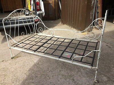 Lovely Large French Metal Day Bed