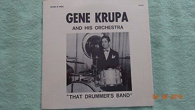 Gene Krupa  & His Orch.  1  LP   Jazz       RAR