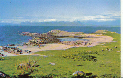 Scotland Postcard - Corner of Mellon - Udrigle Sands - Laide - Ref 2375A