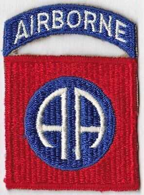 U.S. Army WW II 82nd Airborne Infantry Division Patch SSI - NO GLOW