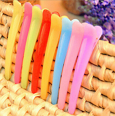 10 X Kawaii Fashion Girls' Hair clips Mixed Color style Hair Accessories